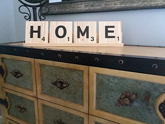 Prime Scrabble Letter Tiles And Tray Oversized Large Wood Decor Customize Name Personalize Home Family Love Beach Coffee Table Mantle Uwap Interior Chair Design Uwaporg