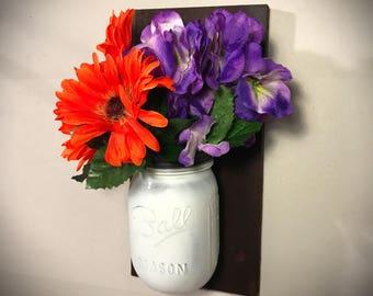 hanging flower vase etsy