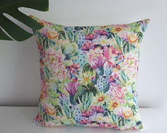 "Cushion cover "" Watercolor Succulents"""