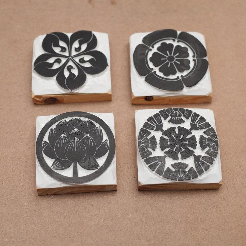Printing wooden stamp japan stamp Crane stamp japanese crane Planner hand carved for Filofax,Post Card Scheduler Calendar