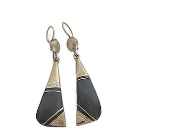 Tribal earrings - African  earrings - Tuareg earrings - ethnic earrings - African jewelry - African earrings - tribal jewellery