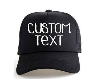 933a7851997bb Custom Hat- Custom Trucker Hat- Customized Hats- Custom Trucker Hats- Hats- Trucker  Hats- Trucker Hat- Bachelorette Hats- Bride Hats- Custom