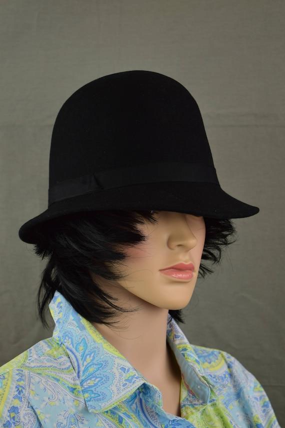 12cf37f9c2c Scala Classico Derby Hat Style Hat Wool Felt Bowler Hat | Etsy