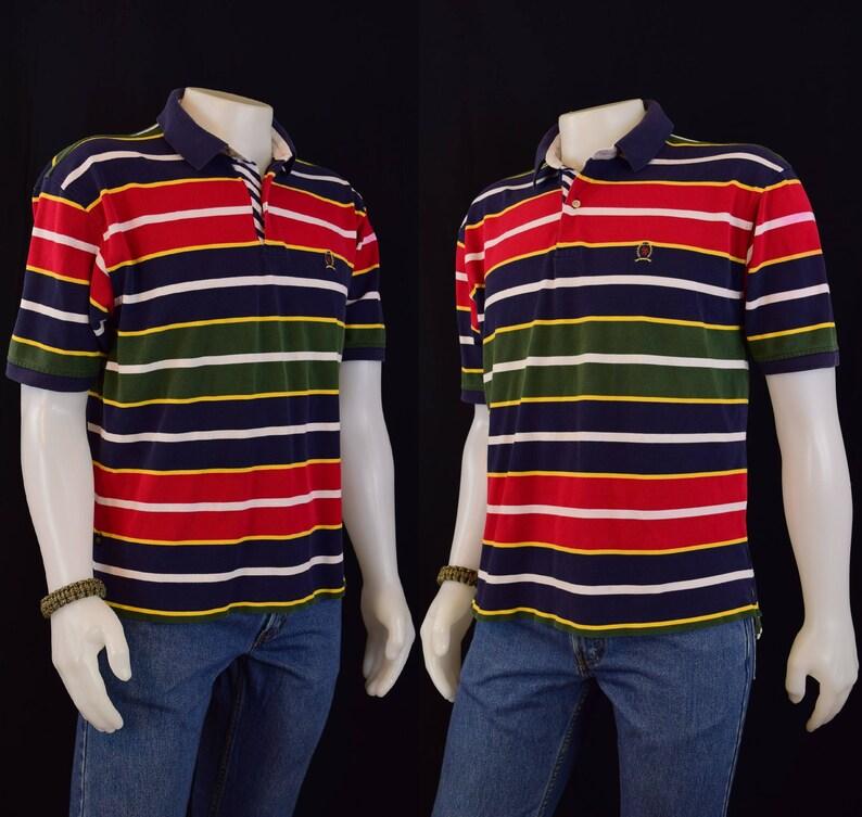b04cbceb172c Chemise hommes Polo Tommy Hilfiger pour homme Polo Shirt 90