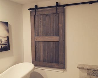 Barn Doors   Any Size   Sliding Barn Doors   Hardware Included   Rustic Barn  Style Doors   Interior Barn Doors   Barn Door Gate