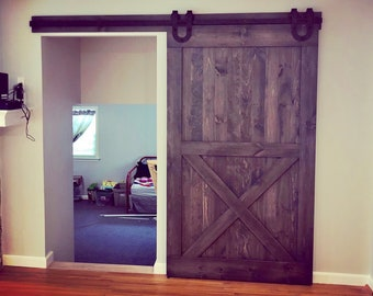 Superbe Barn Doors   Any Size   Sliding Barn Doors   Hardware Included   Rustic Barn  Style Doors   Interior Barn Doors   Barn Door Gate