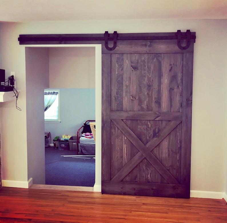 image 0 & Barn Doors Any Size Sliding Barn Doors Hardware Included | Etsy