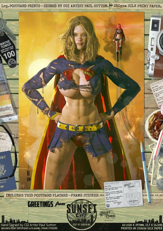Supergirl sexy Supergirl Has