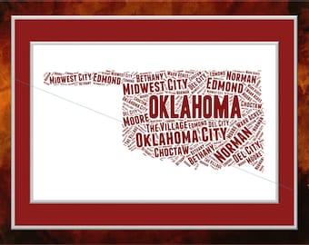 OklahomaWord Art