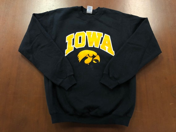 Iowa Hawkeyes Vintage Medium Crewneck Sweatshirt C