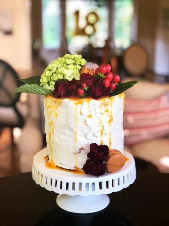 Fresh Custom Cake 9 2 4 Layers Birthday Bridal
