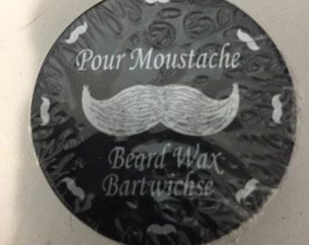 Beard/moustache wax