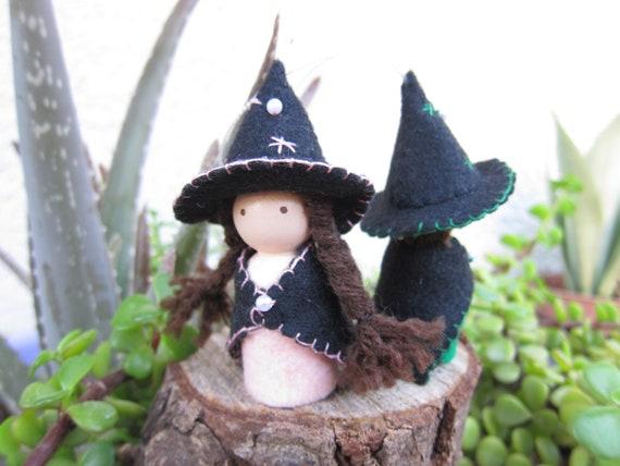 Buy 3 Save $5 Miniature Fairy Garden Halloween Witch #3