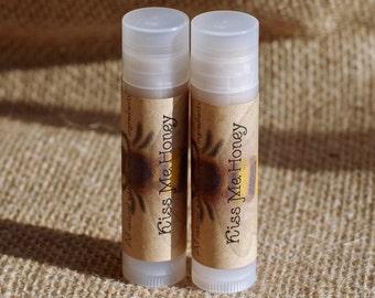 Kiss Me Honey Lip Balm || Honey Lip Balm || Organic Lip Balm