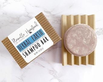Herbal Earth Shampoo Bar || Sulphate Free Shampoo || Concentrated Shampoo