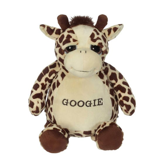 Personalized Giraffe Googi Large Stuffed Animal Etsy