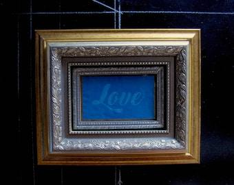 Love Framed Art Print Beautiful Gift