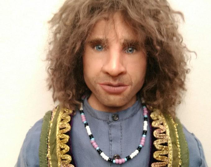 Jim Morrison doll