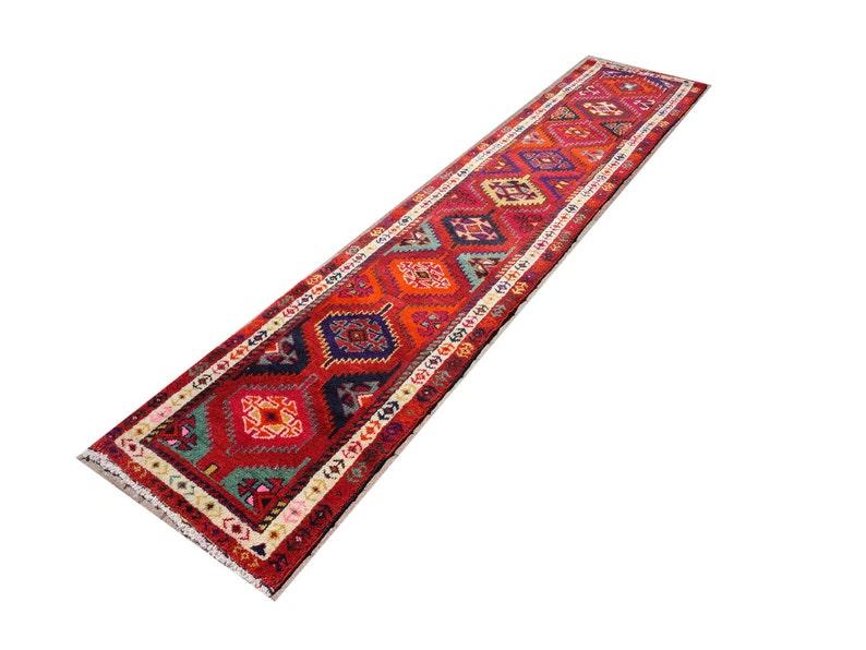 Vintage Teppich Laufer Teppich Teppich Laufer Herki Etsy