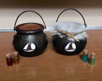 Sorting Hat Bath bomb, Harry Potter bath bomb (with) tiny potion bottle, Cauldron Bath bomb, Bath bomb, Bath bomb