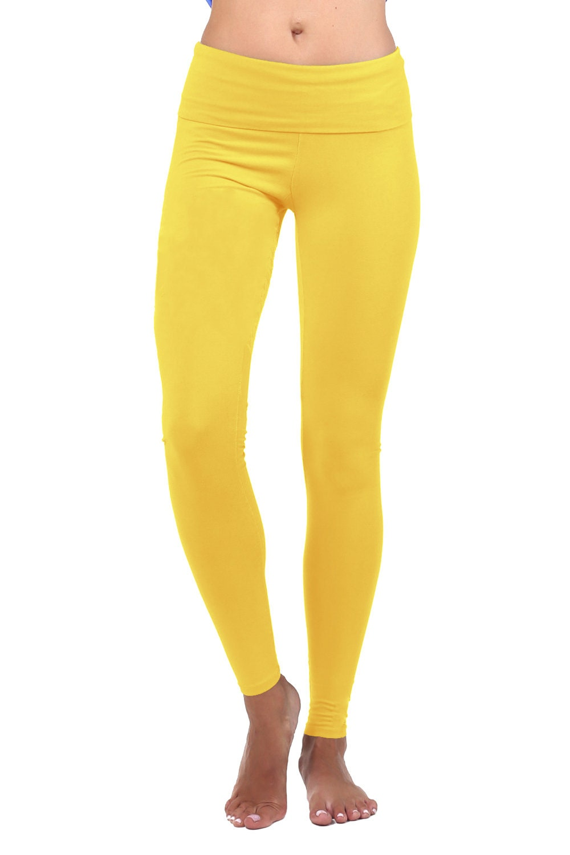 Yoga Pants Women Yoga Leggings Yoga Clothes Yellow Tights Etsy