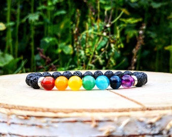 Beaded bracelet for men and women, Multicolor bracelet, Gift bracelet for him and her, Friendship bracelet, Gift bracelet, Love bracelet