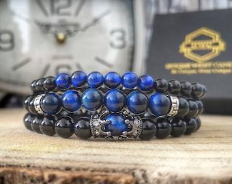 Gift set bracelets for men, Gift for men, Bracelet set for men, Gift for him, Bracelet gift for men, Men's gift, Perfect gift for men