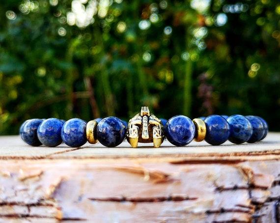 Gladiator bracelet, Helmet bracelet, Spartan bracelet, Mens bracelet, Women bracelet, Gift for men, Men jewelry, Watch jewelry