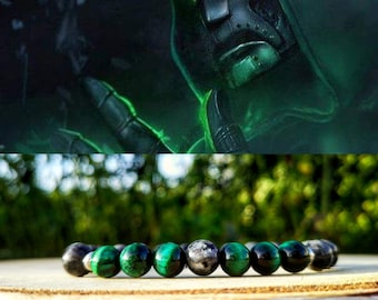 Doctor Doom bracelet, Marvel bracelet, Victor Von Doom, Supervillain bracelet, Marvel comics, Marvel gift