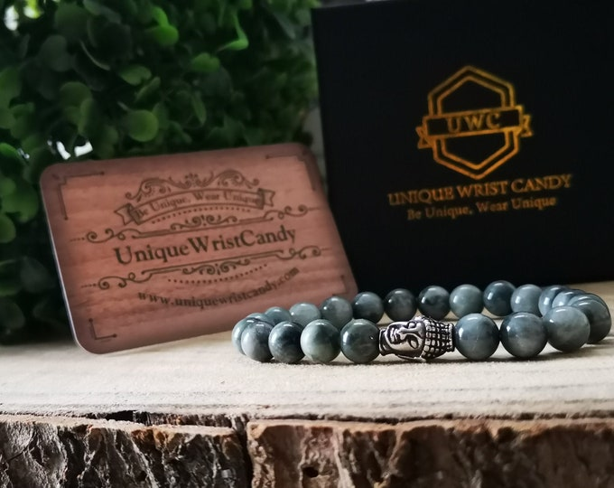 Featured listing image: Buddha bracelet, Mens bracelet, Gents bracelet, Women bracelet, Zen bracelet, Hawkeye bracelet, Perfect gift, Beaded bracelet, Man bracelet