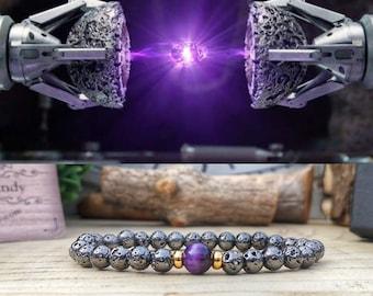 Power Stone bracelet, Infinity Stone bracelet, Marvel bracelet, Marvel Infinity stone, Avengers bracelet, Marvel gift, Marvel jewelry
