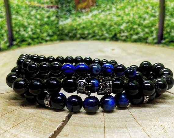 Gift set bracelets for men, Gift for men, Bracelet set for men, Gift for him, Bracelet gift for men, Men's gift, Perfect gift for men