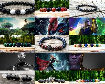 Different Marvel comics bracelets, Marvel, Marvel bracelets, Marvel gift, Marvel comics, Marvel avengers, Marvel jewelry