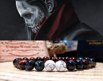 Morbius bracelet, Morbius the living vampire, Marvel bracelet, Morbius marvel jewelry, Marvel comics jewelry