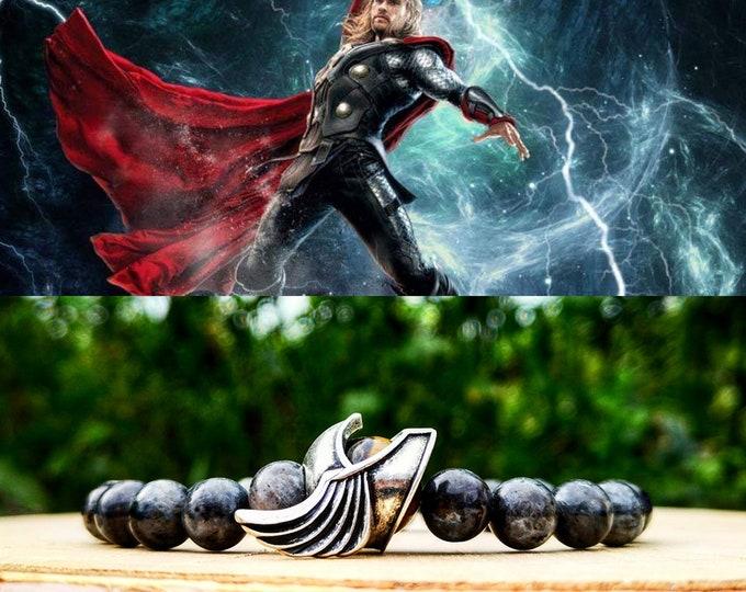Featured listing image: Thor, Thor bracelet, Marvel, Marvel bracelet, Marvel jewelry, Marvel comics, Marvel gift, Thor jewelry