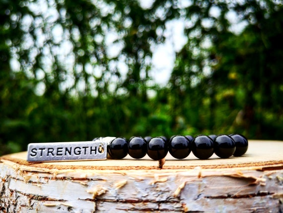 Power bracelet, Fitness bracelet, Gym bracelet, Strength bracelet, Gym gift for him and her, Fitness gift for men and women