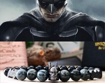 Batman, Batman logo, Batman bracelet, Batman gifts for men, Batman jewelry, Batman gift, Batman gift for him and her, DC Comics