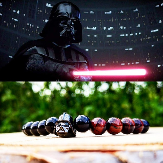 Darth Vader, Darth Vader bracelet for him and her, Star Wars, Star Wars bracelet, Bracelet for men, Comic bracelet, Comics, Beaded bracelet