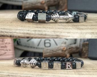 Fitness bracelet, Gym bracelet, Fitness jewelry, Dumbbell bracelet, Motivation fitness bracelet, Power bracelet, Men and women bracelet