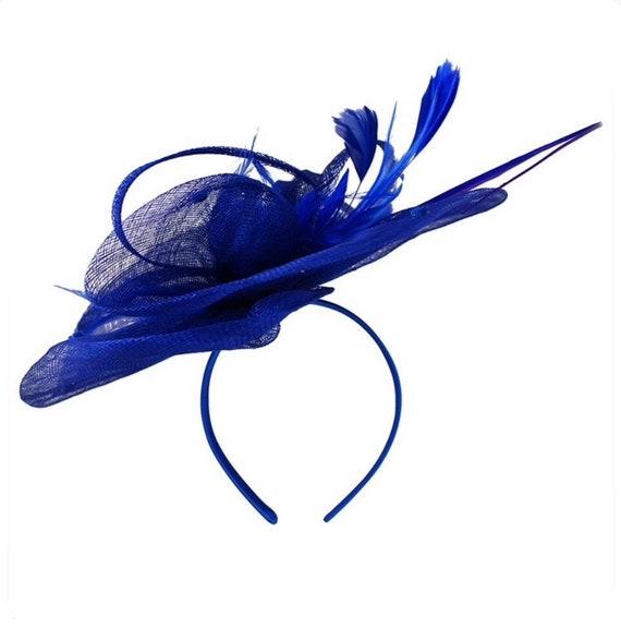 70889b51793 Royal blue cobalt blue royal blue fascinator fascinator