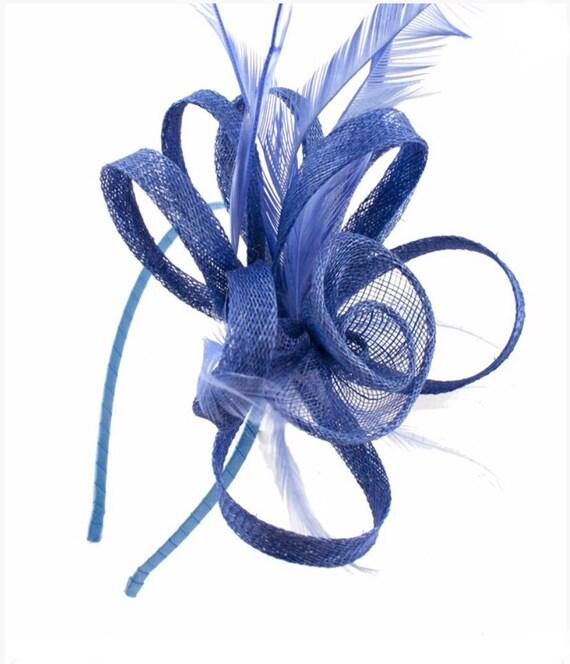 b7439a741102e Blue light blue cornflower blue baby blue Fascinator