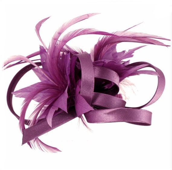 Purple plum grape Fascinator hat Fascinators Fascinator  b103d41e46b