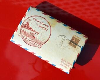 Wallett - Vintage Envelope - Vegan Leather - Women's Bag