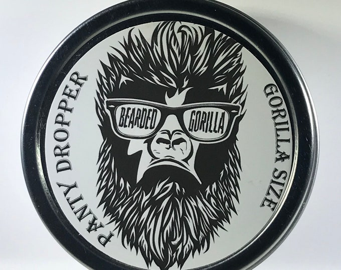 Panty Dropper Gorilla Size All Natural Moisturizer Beard Balm, Man Gift,Bearded Man Gift, Father's Day Gift, Mens Beard Products