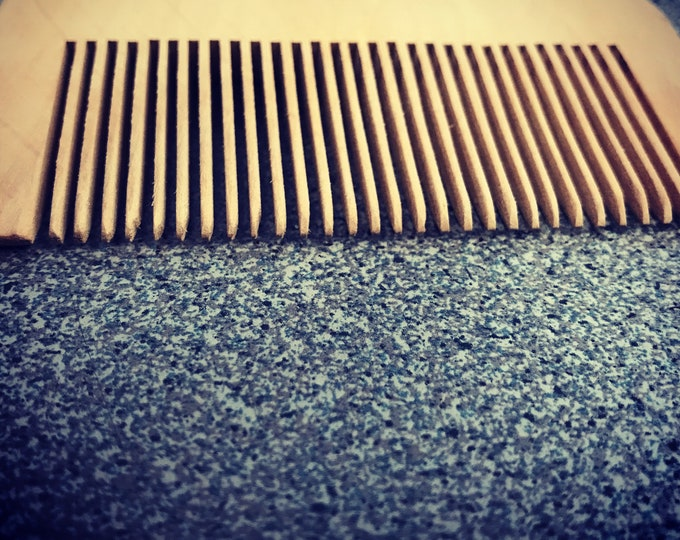 Wallet size Beard Comb