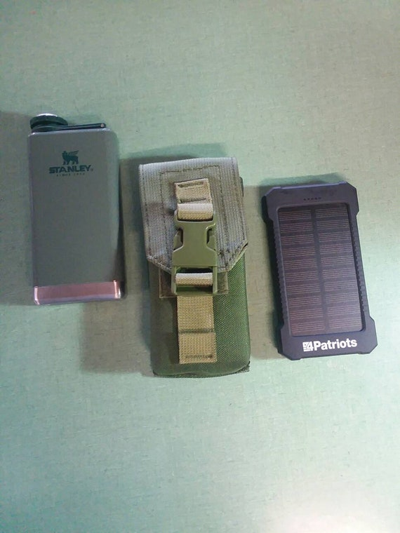 Borchardt Tactical Modular Flask/Solar Charger Pouch