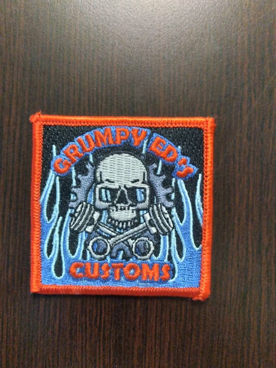 Gear Swag patch 2.5 by 2.5 inches, with velcro.