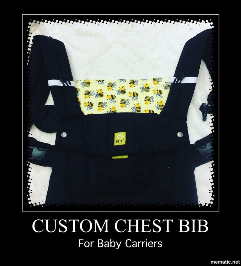 Chest Bib Baby Carrier Lillebaby Tula Kinderpack Drool Catcher Mom Pad Drool Pad Accessories Protective Chest Cover
