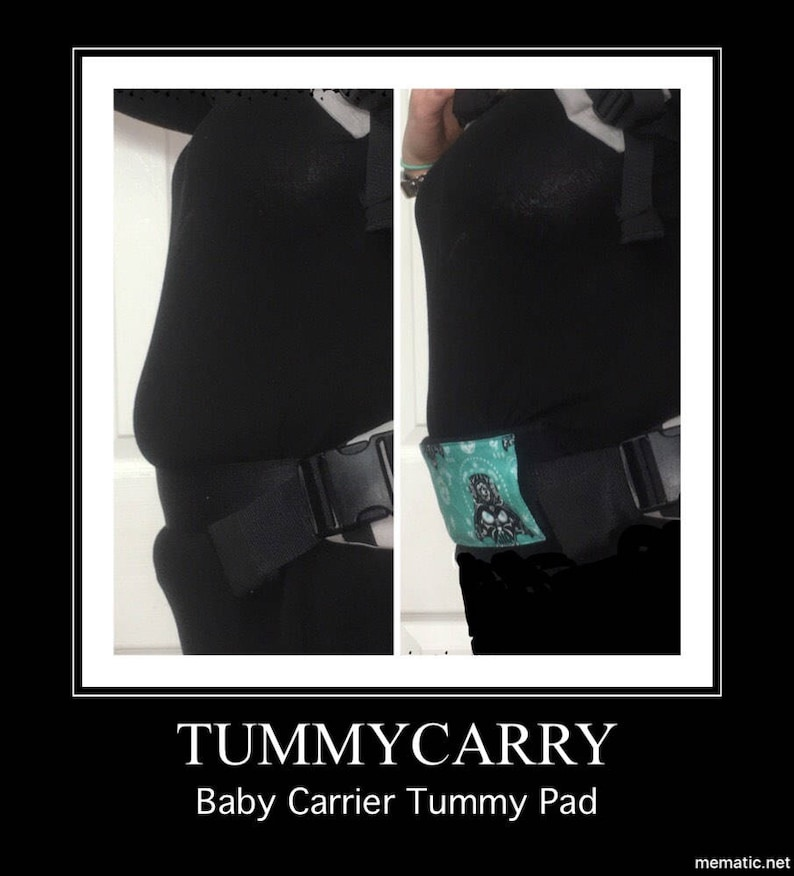 Tummycarry Baby Carrier Tummy Pad Custom Slide On Mommy Pouch Slimming Lillebaby Tula Kinderpack Ergo