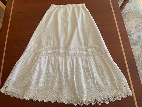 Crochet Lace Antique Skirt